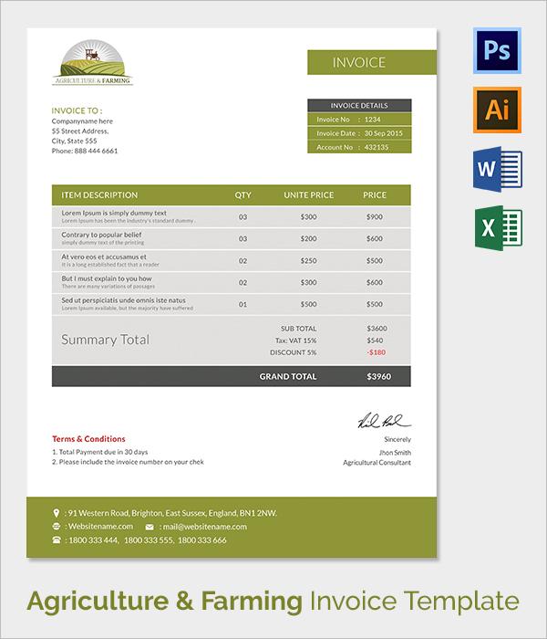 38  invoice templates