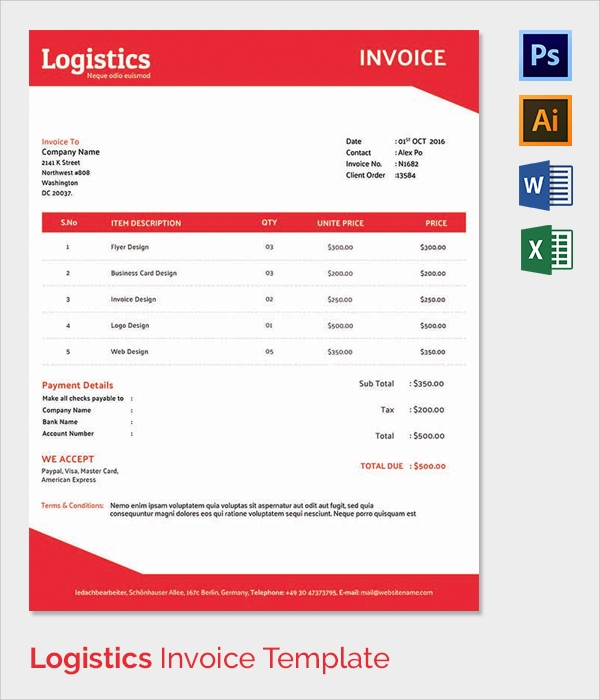free business invoice template downloads