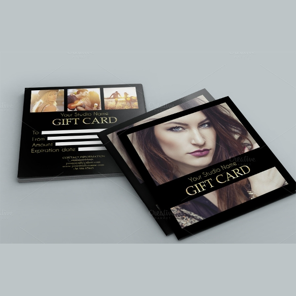 elegant gift card template
