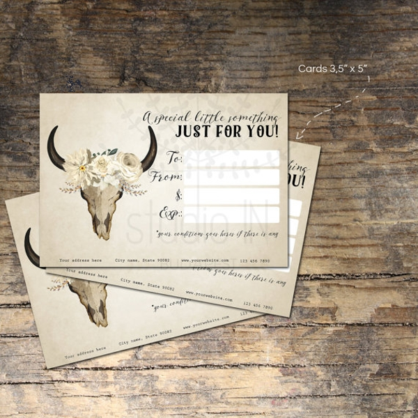 custom gift card template