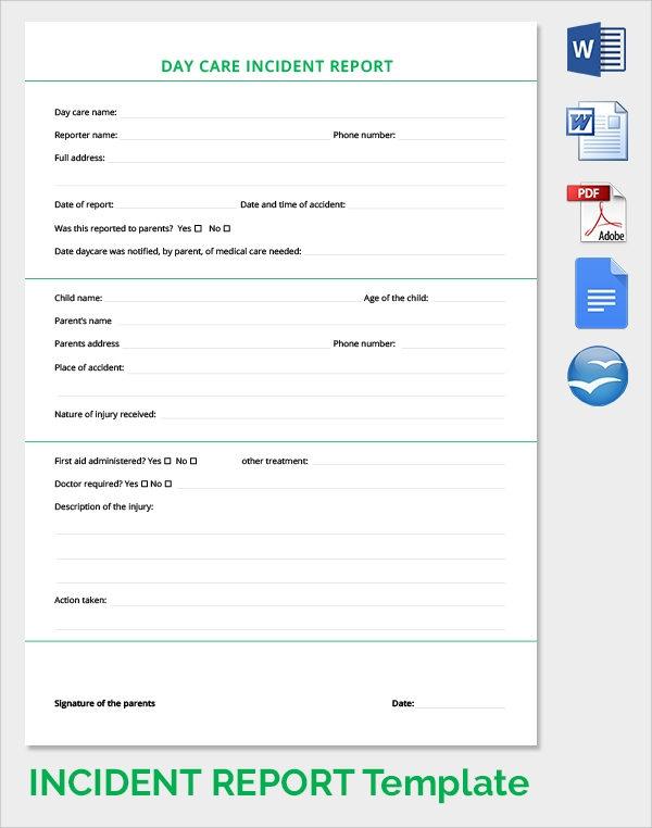 Security Incident Report Template  SaveBtsaCo