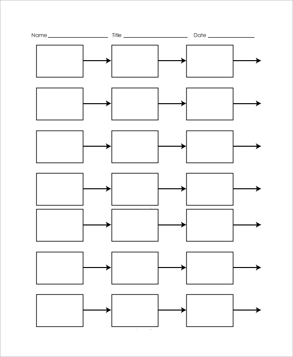 Simple Timeline Template For Kids