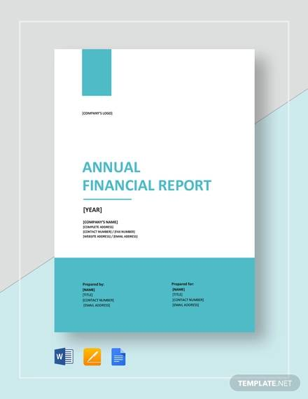 annual financial