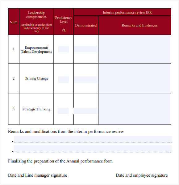 Sample Supervisor Evaluation - 10+ Example, Format
