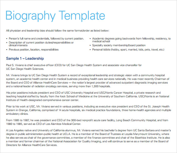 8 Biography Timeline Templates Free Samples Examples
