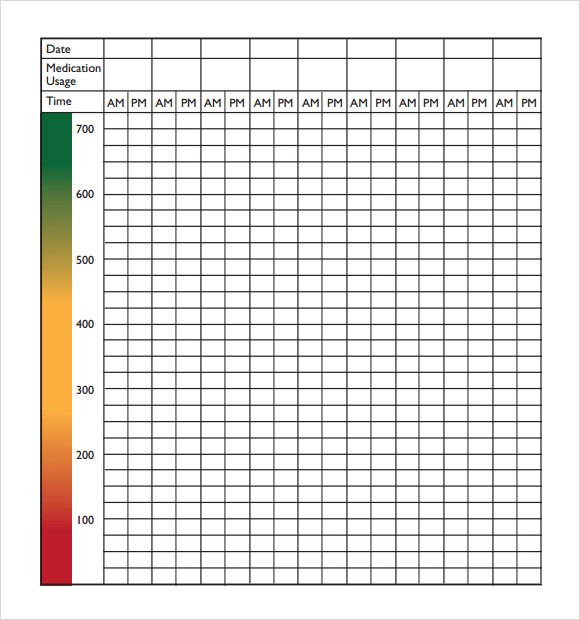 This is an image of Medication Chart Printable with daily