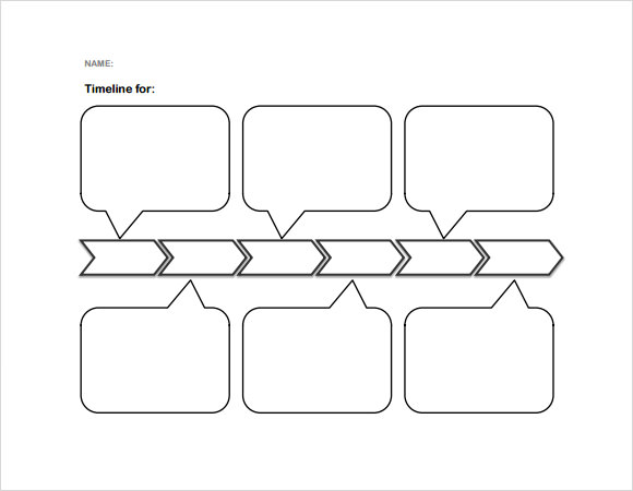 free 7  sample blank timeline templates in pdf