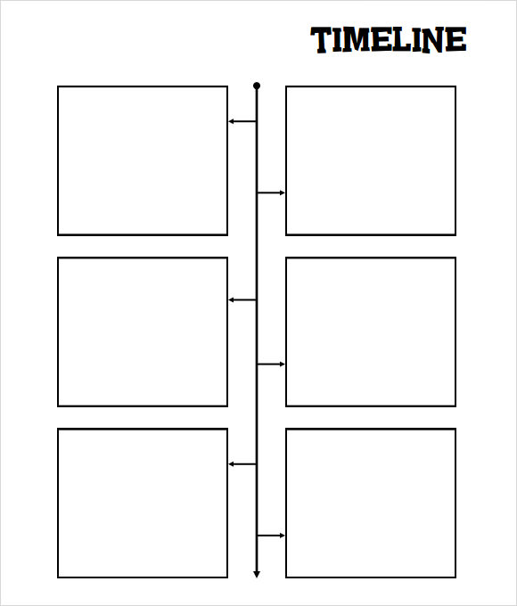 Invaluable image inside free printable timeline template