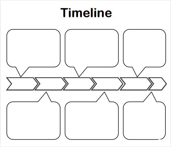 Timeline template for kids 6 download free documents in for Blank book template for kids