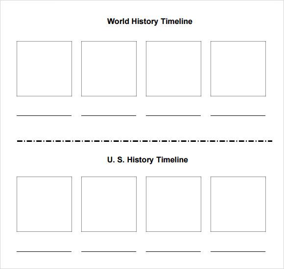 template timeline