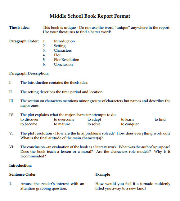 Research paper outline help middle school powerpoint
