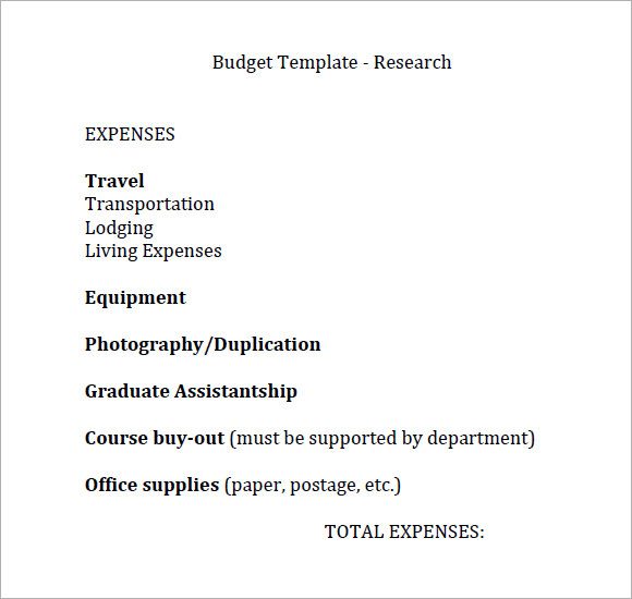 budgettemplate