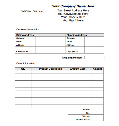 Free business receipt template sample receipt templates free samples examples format flashek Images