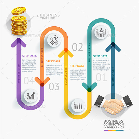 Sample Business Timeline 8 Documents in PDF PSD – Business Timeline Template