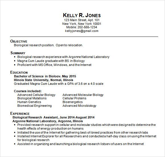 Sample College Resumes Examples Of Resume For College Students