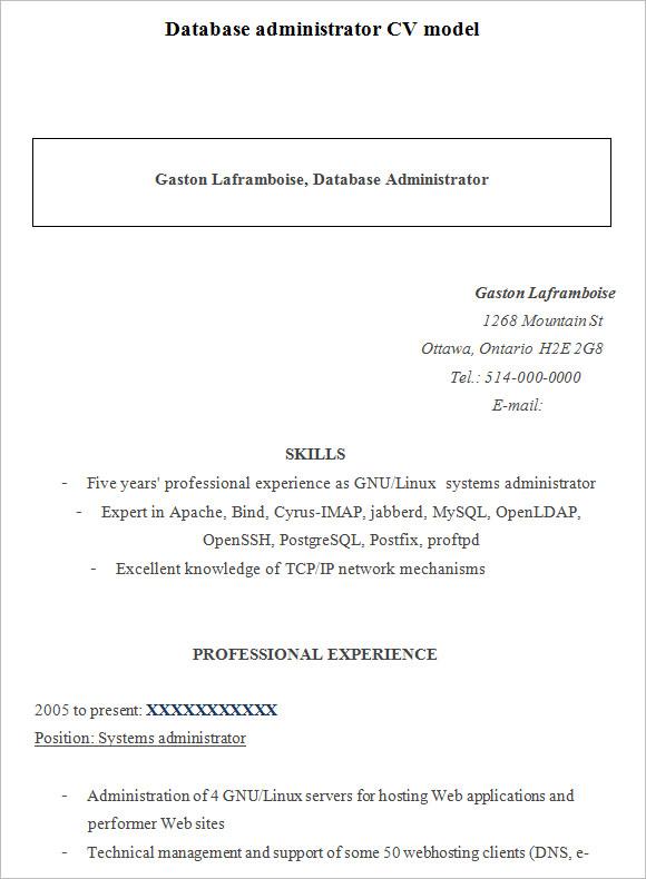 100 linux system administrator resume sle buy esl