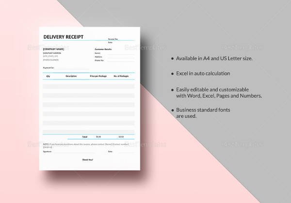 delivery receipt template1