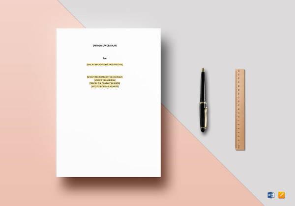 sample work plan 12 documents in pdf word