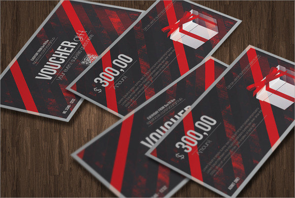 gift card template photoshop