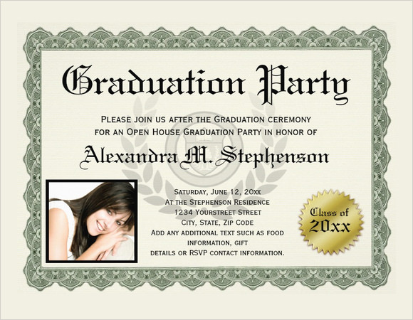 10 graduation certificate templates  u2013 samples  examples