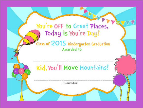 Accomplished image throughout kindergarten certificate free printable