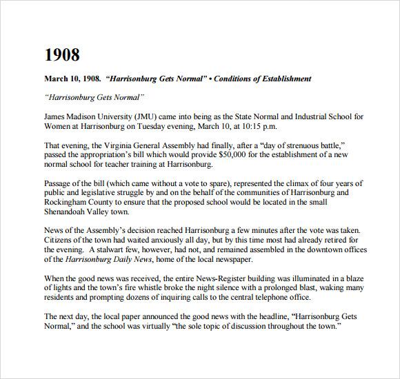 historical timeline template download