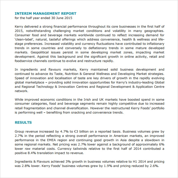 strategic management report Strategic management is the management of an organization's resources in order to achieve its goals and objectives.