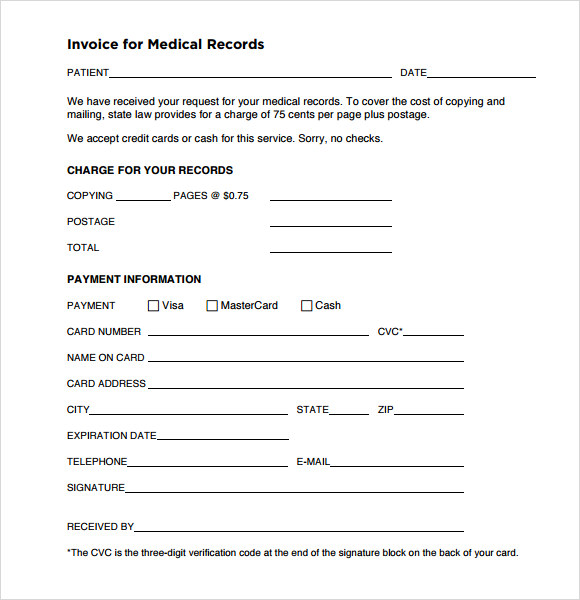 Maidofhonortoastus  Remarkable Medical Invoice Template   Free Samples Examples Format With Magnificent Invoice For Medical Records With Agreeable Usps Receipt Tracking Number Also  C  Donation Receipt In Addition Home Depot Exchange Without Receipt And Rental Receipt Sample As Well As App To Store Receipts Additionally Return Without A Receipt From Sampletemplatescom With Maidofhonortoastus  Magnificent Medical Invoice Template   Free Samples Examples Format With Agreeable Invoice For Medical Records And Remarkable Usps Receipt Tracking Number Also  C  Donation Receipt In Addition Home Depot Exchange Without Receipt From Sampletemplatescom