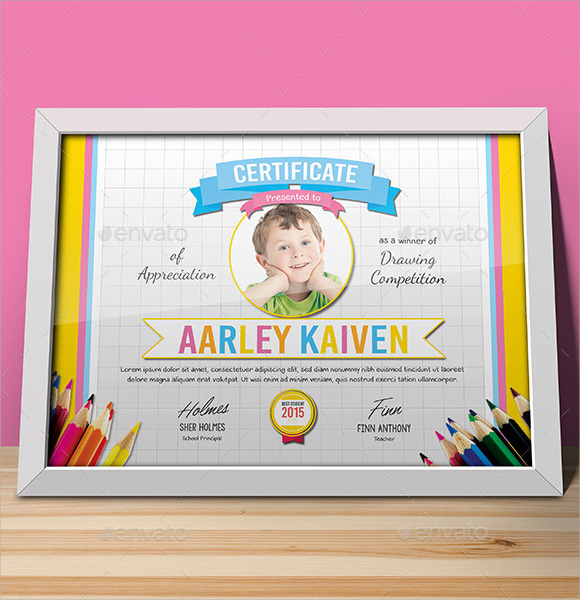 macbook school certificate template