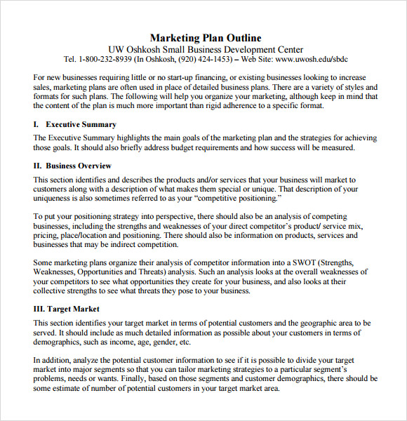 marketing plan template1