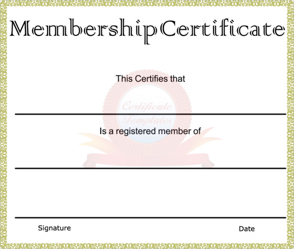 Pin llc membership certificate pdf on pinterest for Life membership certificate templates