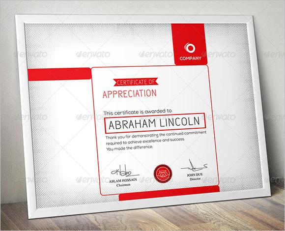 modern multipurpose certificate gd14