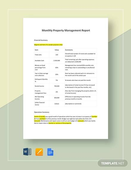 14 sample management reports pdf word pages