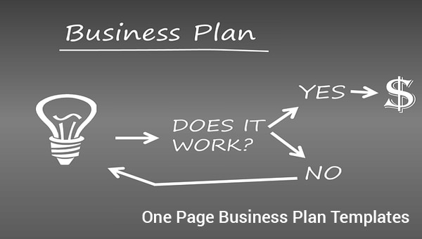 one page business plan sample 9 documents in pdf