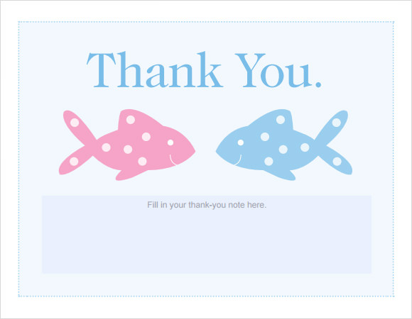 This is a graphic of Persnickety Printable Baby Shower Thank You Cards