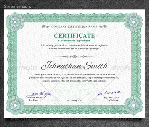 9+ Graduation Certificate Templates - Samples , Examples , Format