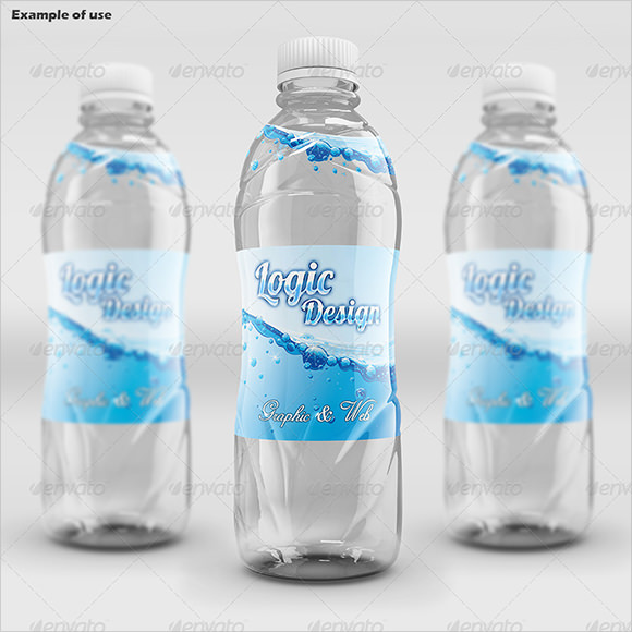 Water Bottle Label Templates - Free Samples , Examples , Format ...