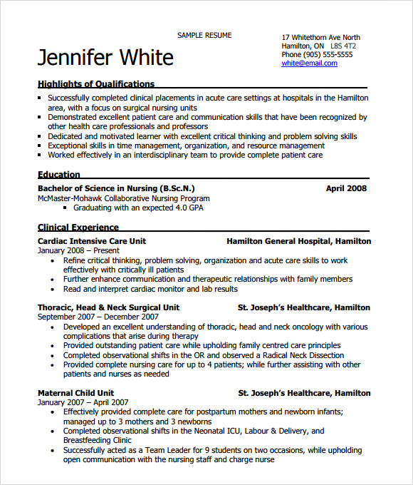 sample graduate nurse resume graduate nurse resume examples pinterest sample nursing resume rn resume - Resume For Graduate Nurse