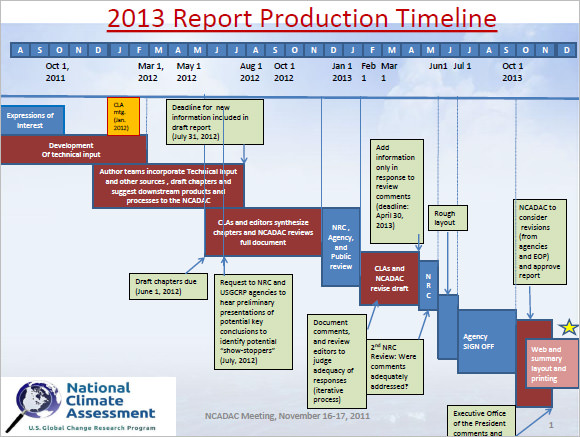 report production timeline template1