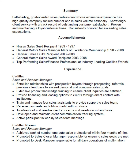 sales manager sample resume panoramic resume pdf