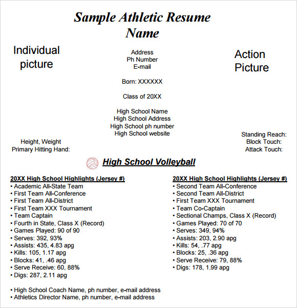 9  sample college resume templates  u2013 free samples