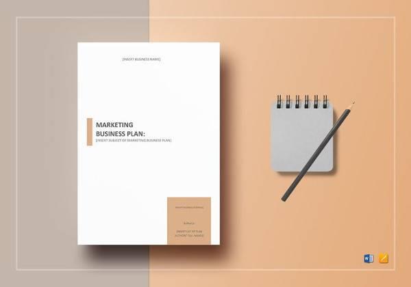 sample marketing business plan