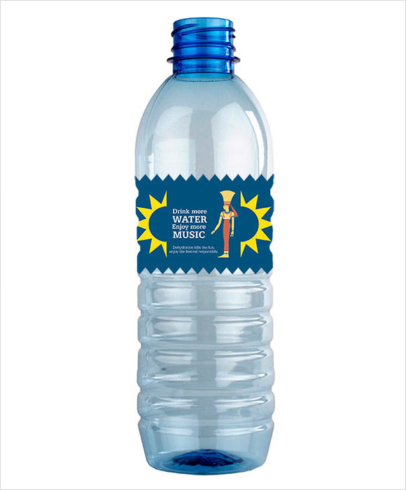 Water Bottle Label Templates  Free Samples  Examples  Format