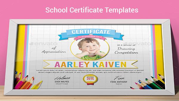 30 School Certificate Templates Samples Examples Format