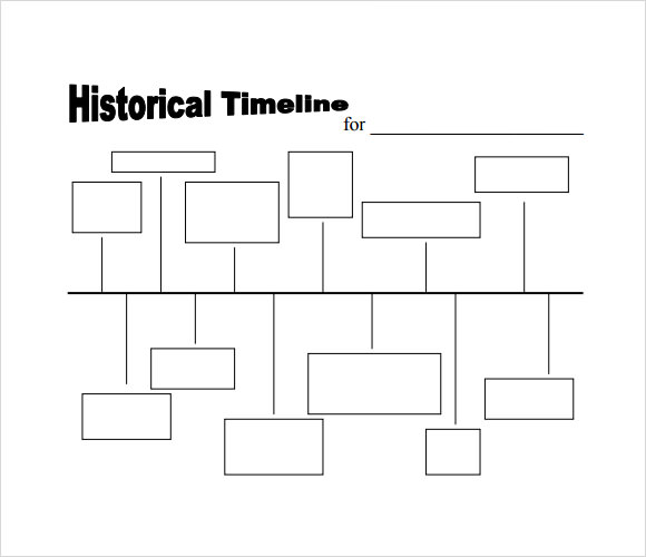 image relating to Printable Timeline Template referred to as Free of charge 9+ Timeline Samples in just PDF Phrase Excel PPT