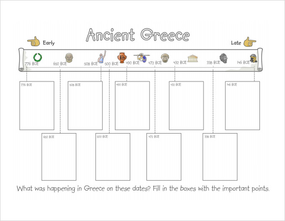 simple timeline template for kids1