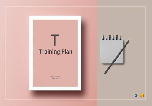 12 sample work plans sample templates for Simple training plan template