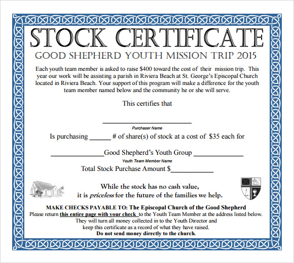Pdf stock certificate template yadclub Images