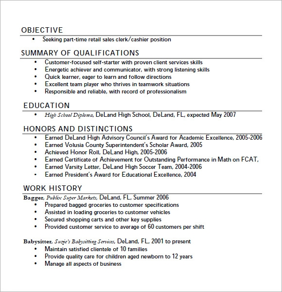 teen sample resume sample first time job resume sample teen resume examples via with regard to