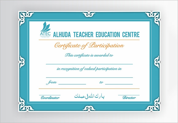 Training Certificate Templates  Samples  Examples  Format